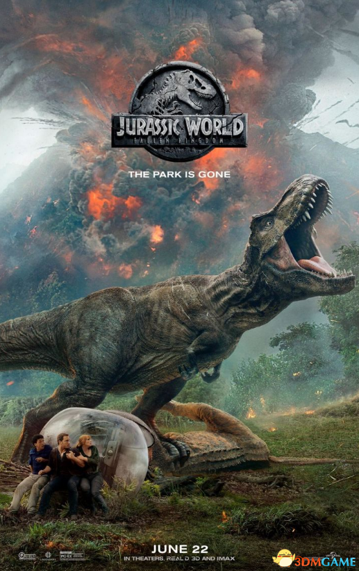 《侏羅紀世界2》全新海報