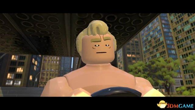 《乐高超人总动员》首部官方实机宣传视频展示
