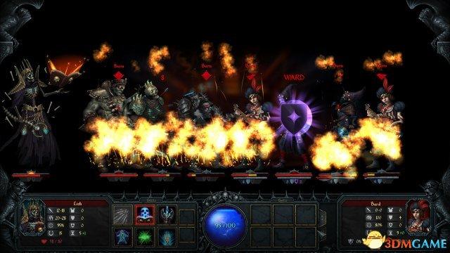 俄RPG《伊拉特斯:死神降临》 《暗黑地牢》即视感