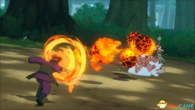 《火影忍者:究极忍者风急叁部曲》