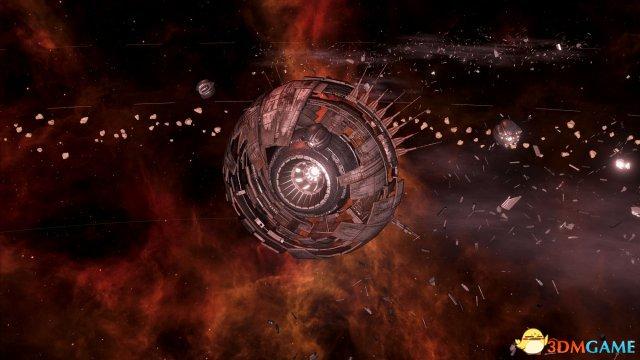 《群星》新DLC加入全新星系 宇宙巨型生物来袭