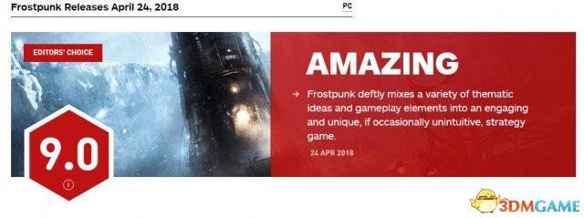 <b>《寒霜朋克》IGN 9分!冰冷殖民地的沉重人性</b>