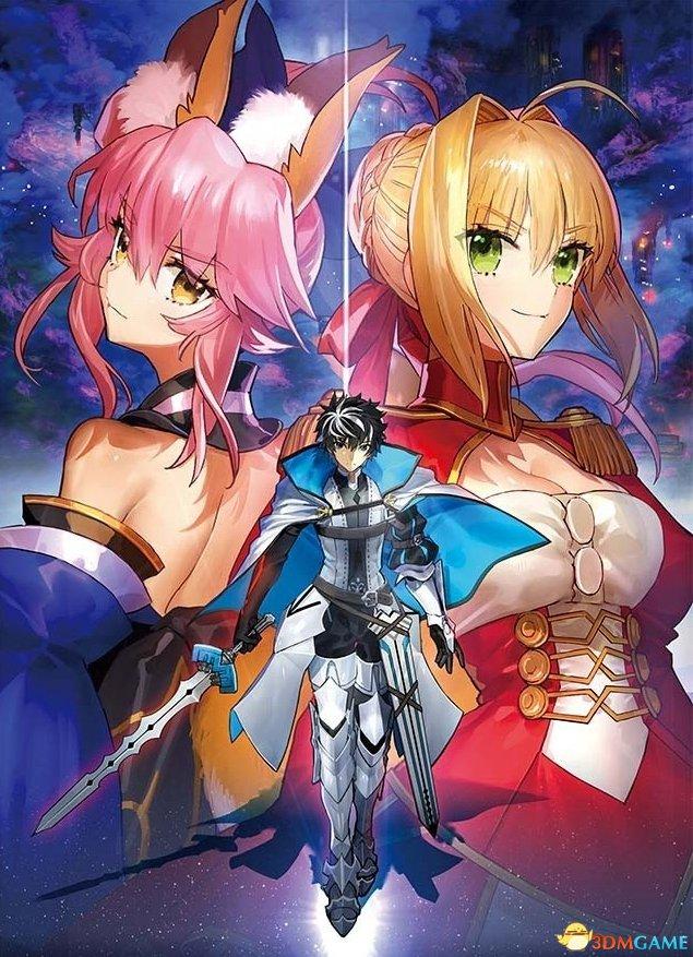 女装大佬参战《Fate/EXTELLA LINK》新登场角色