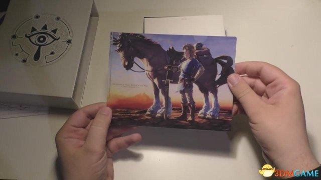 《塞尔达传说:旷野之息》原声音乐特典开箱演示