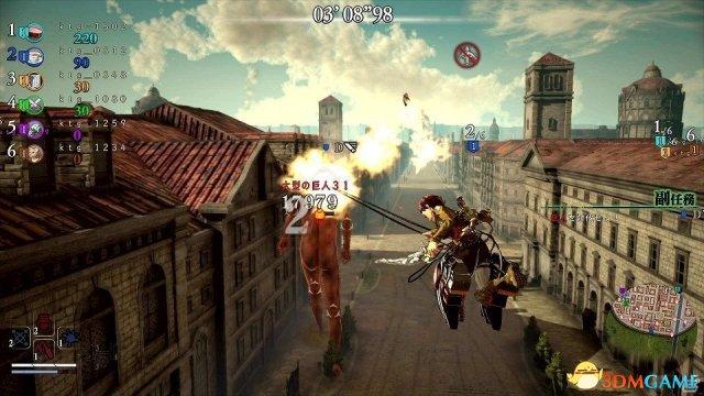6人大混战模式追加!《进击的巨人2》免费更新