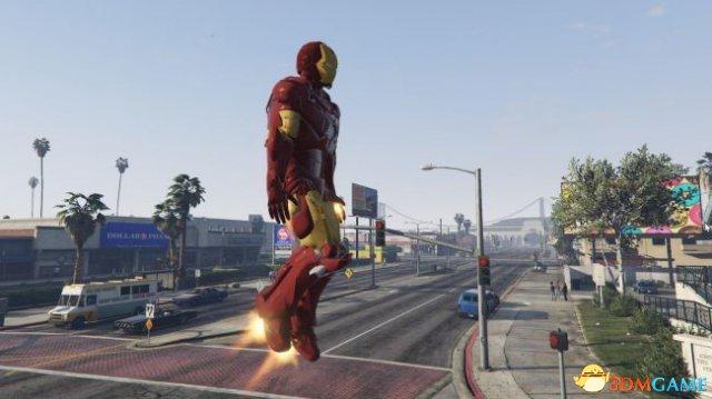 《GTA5》钢铁侠MOD作者访谈 下一个英雄是蜘蛛侠