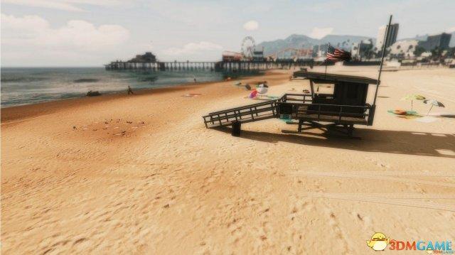 侠盗猎车5 韦斯普奇休闲海滩mod