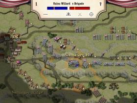 南北战争:葛底斯堡战役 游戏截图