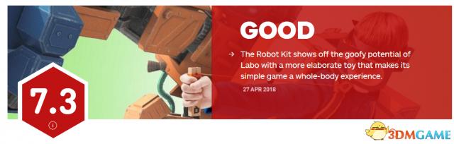 7.3分 任天堂机器人套件IGN评分出炉 变身体验棒