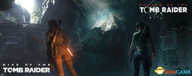 《古墓奇兵:暗影》对比《古墓奇兵:崛起》截圖
