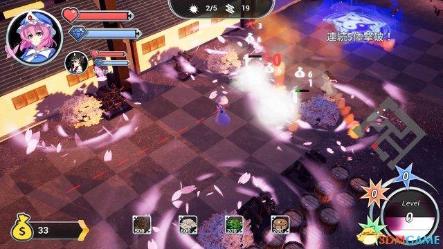 华丽塔防类同人东方系《幻想乡守护者》PS4版上线