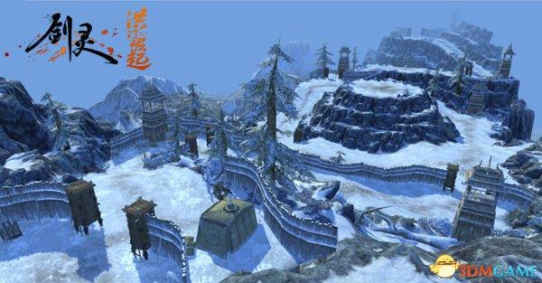 《剑灵洪门崛起》跨服新玩法 冰封战场绝地求生