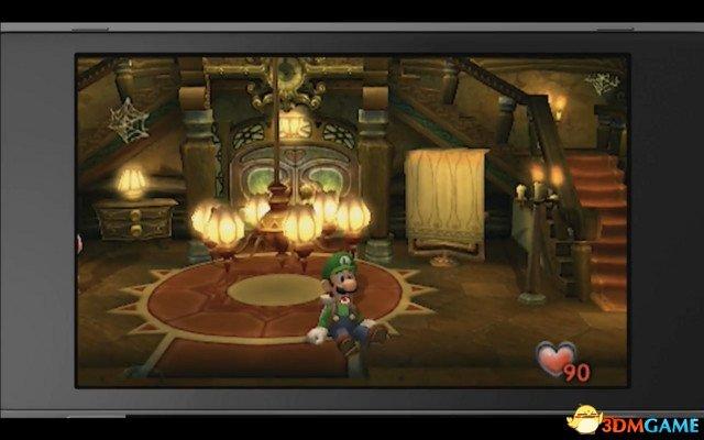 游戏新消息:3DS路易的鬼屋重制版由塞尔达传说制作组开发