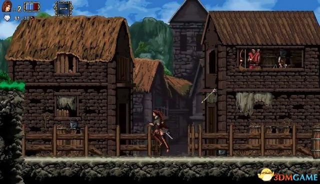 粉丝打造女版恶魔城游戏《瓦拉几亚:吸血鬼王朝》