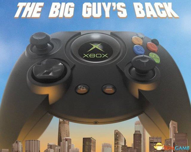大手党情怀!最新初代Xbox复刻版大手柄即将发售