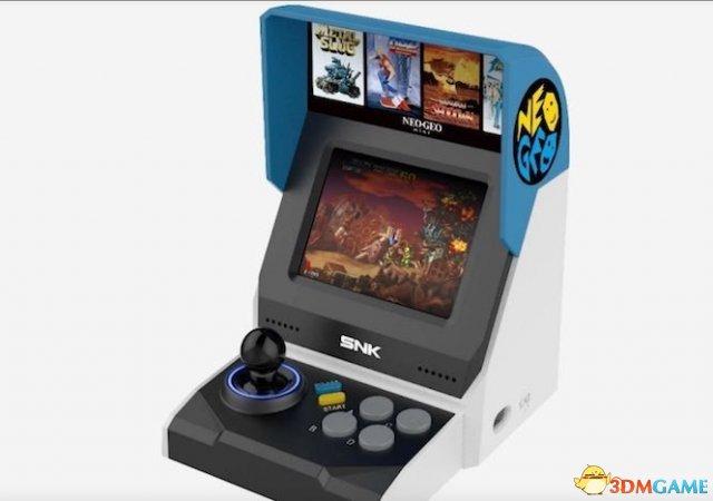<b>SNK将推出NeoGeo新游戏主机 3.5英寸屏幕玩拳皇</b>