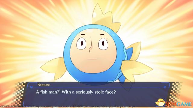 《新次元海王星VIIR》新截图展示游戏内幽默对话