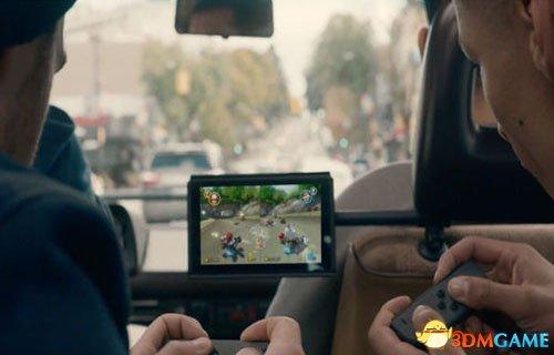 国外顺风车司机装Switch供乘客免费玩马里奥赛车
