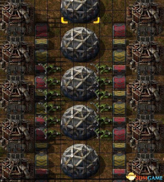异星工程插件塔摆放方法与比例