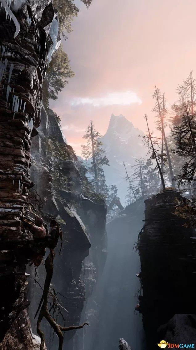 奎爷父子被玩坏 《战神4》照相模式玩家作品欣赏