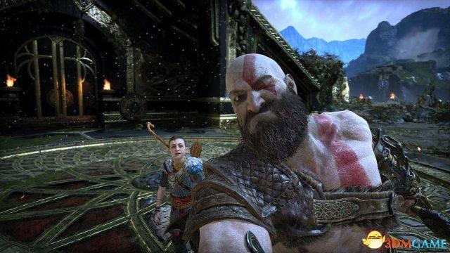 胜博发官网_奎爷父子被玩坏 《战神4》照相模式玩家作品欣赏