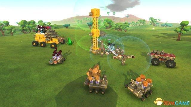 《泰拉科技》今夏发售正式版 a href='http://www.3dmgame.com/games/thesandbox/' target='_blank'/p沙盒模式资源大战
