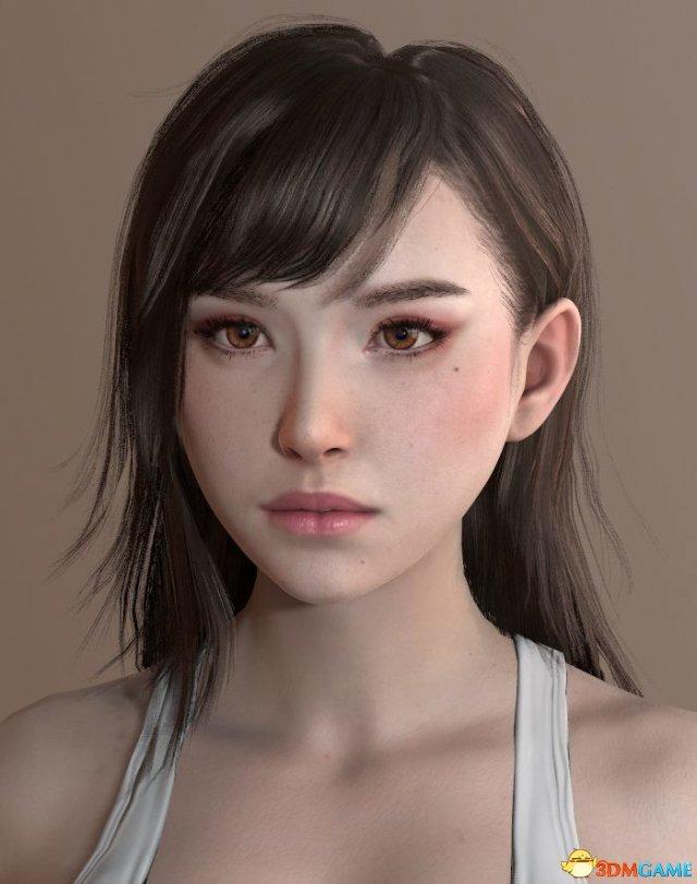 胜博发官网_《最终幻想7》蒂法性感人物建模 颜美身材吸睛