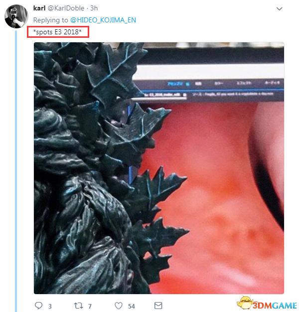 小岛秀夫晒工作照 编辑《死亡搁浅》E3全新预告?