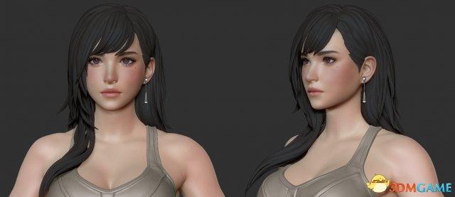 sbf胜博发备用网址_《最终幻想7》蒂法性感人物建模 颜美身材吸睛
