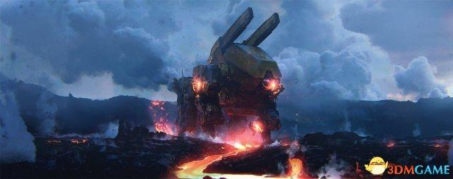 工作室倒闭 《战争机器》之父公布游戏最后原画