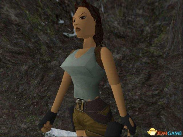 《古墓奇兵》初代蘿拉COS 三角形胸部簡直神還原