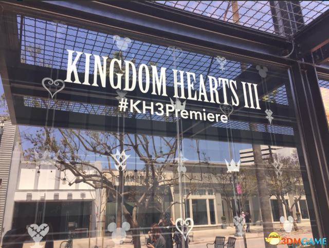 《王国之心3》日本发布会现场照曝光 主题设计精美