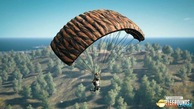 《絕地求生》13輪更新:首款降落傘皮膚正式上線