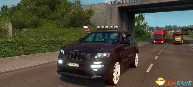 欧洲卡车模拟2 v1.31Jeep吉普大切诺基SRT8MOD