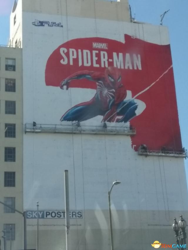 E3 2018《蜘蛛侠》巨幅墙绘曝光