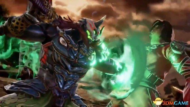 鐵拳忍者吉光重回刀劍格鬥遊戲《靈魂能力6》