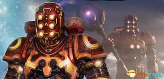 曾在《银河护卫队1》中短暂出现的权杖巨人,疑为天神组成员