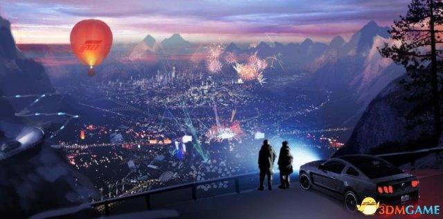 《極限競速:地平線4》設定在香港?概念圖曝光