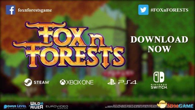 《狐狸森林》公布上市预告片 16位风格闯关冒险
