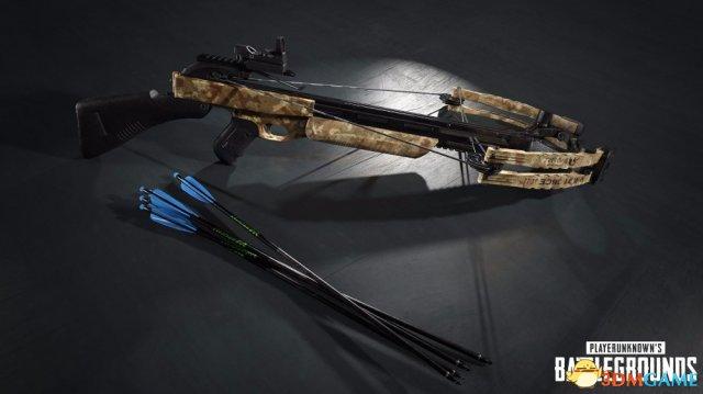绝地求生新模式明日上线 仅用十字弩和近战武器
