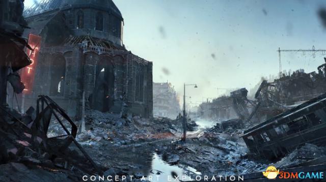 《战地5》全新概念画和游戏截图 展现真实二战场景