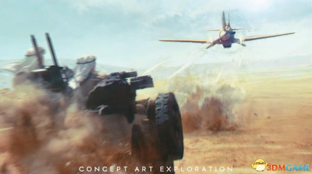 《战地5》全新精美概念画 展现真实二战场景