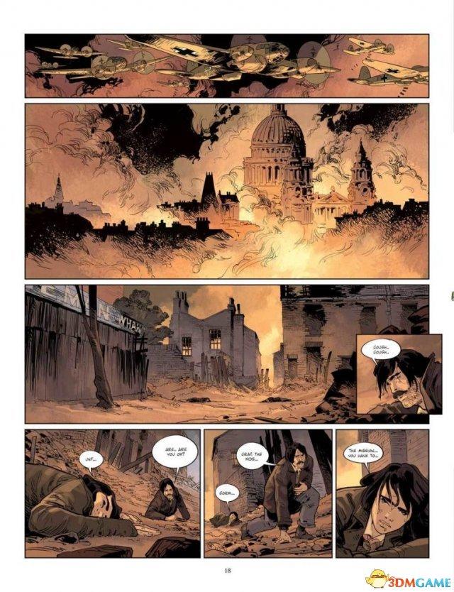 《刺客教條:密謀》漫畫公布 二戰抗德奇俠現身