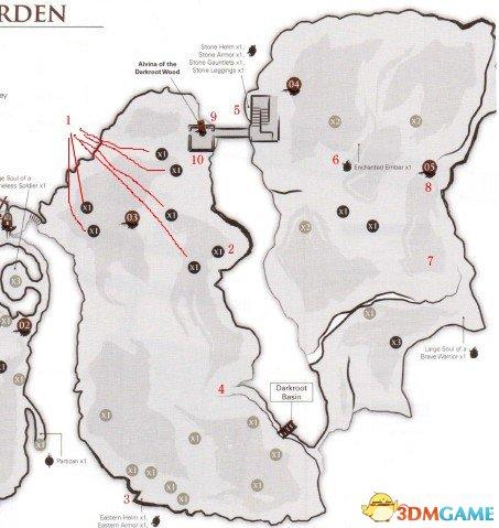 黑暗之魂:重制版 中文全地图标注+流程攻略资料合集