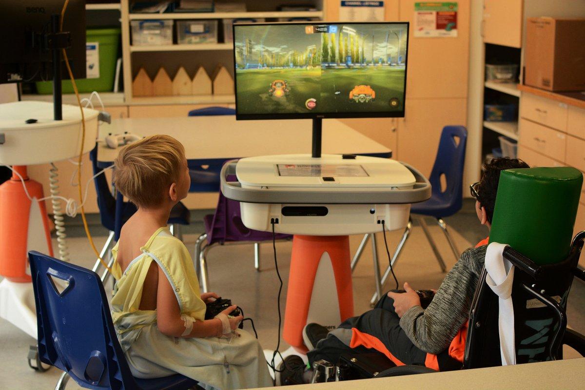 在这里,你可以用游戏帮助医院里的孩子们