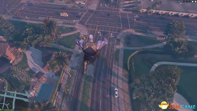 《侠盗猎车5》新MOD 灭霸终于开始入侵洛圣都了
