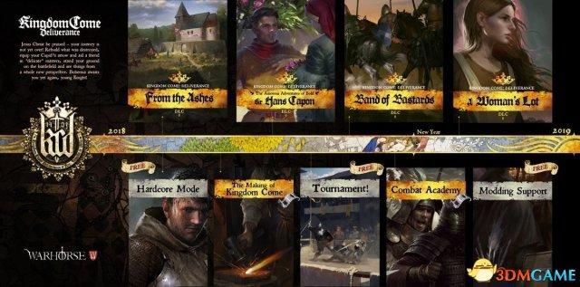 今年《天国:拯救》有3款剧情DLC 爵士风流韵事