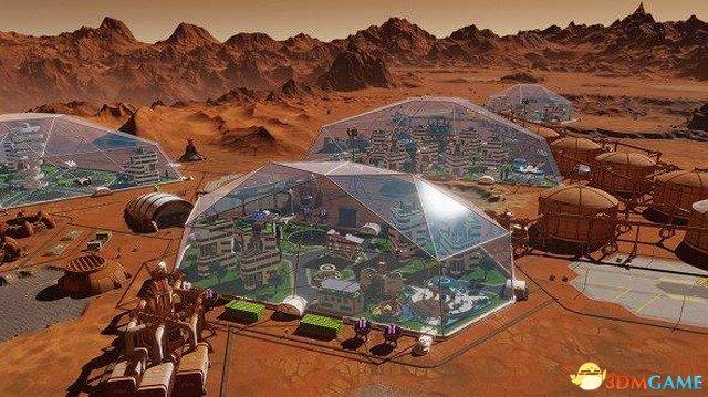 《火星求生》更新将加入全新穹顶 更好保护殖民地