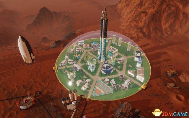 《火星求生》更新將加入全新穹頂 更好保護殖民地