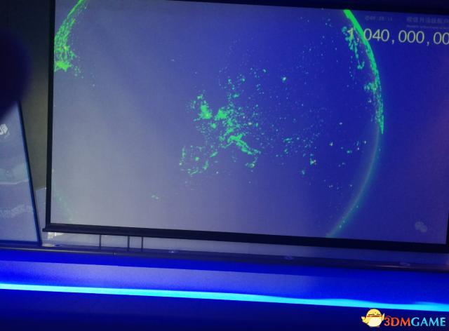 老外晒全球微信活跃用户图 日韩美英等国都被覆盖